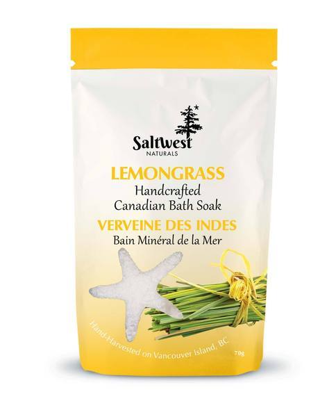 Saltwest Bath Salts- Lemongrass
