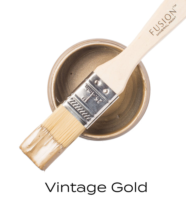 Fusion Paint - Metallic Vintage Gold
