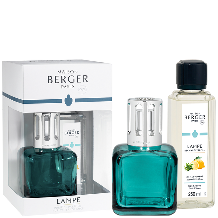 Maison Berger - Ice Cube Green Lampe Gift Set