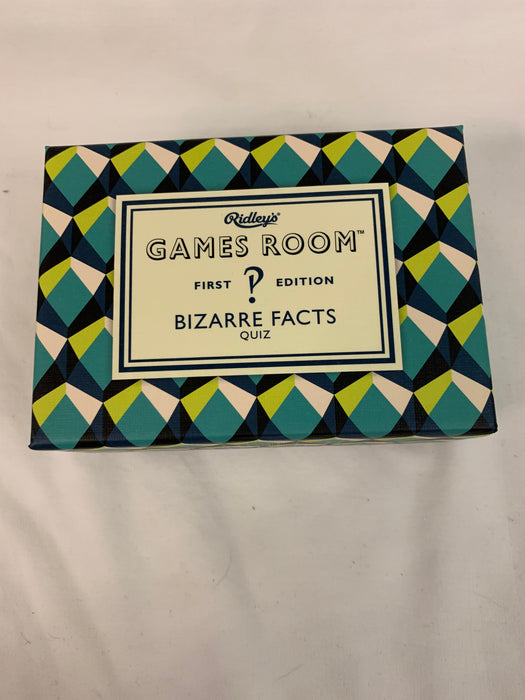 Game - Bizarre Facts