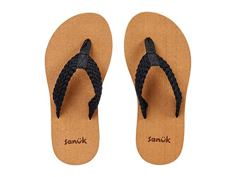 Sanuk - Stacker braid Black