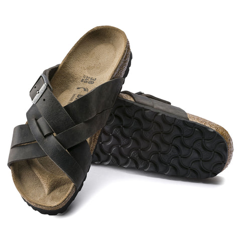 Birkenstock - Lugano Leather Camberra Iron 1015570