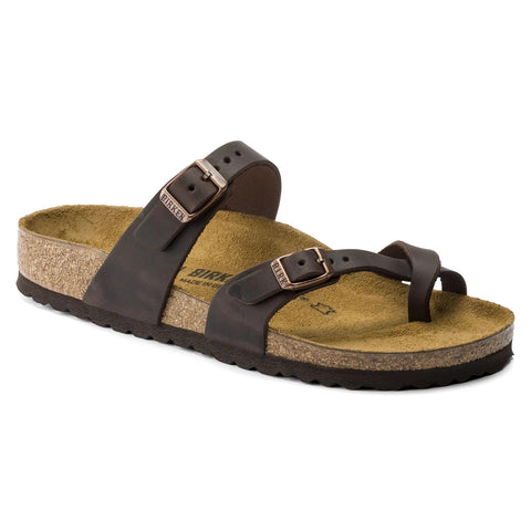 Birkenstock - Mayari Oiled Leather Habana 0171321
