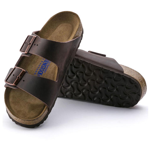 Birkenstock - Arizona Habana Oiled Leather Soft FB