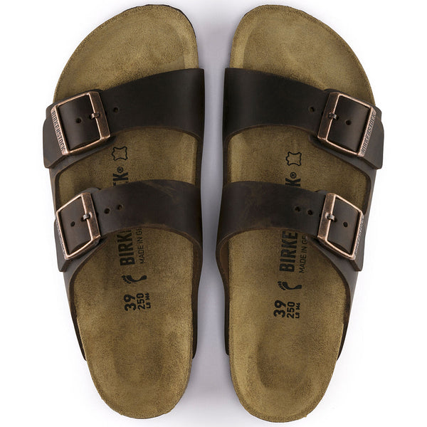 Birkenstock - Arizona Oiled Leather Habana 005231