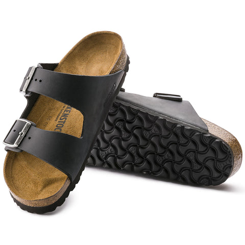Birkenstock - Arizona Oiled Leather Black 0552111
