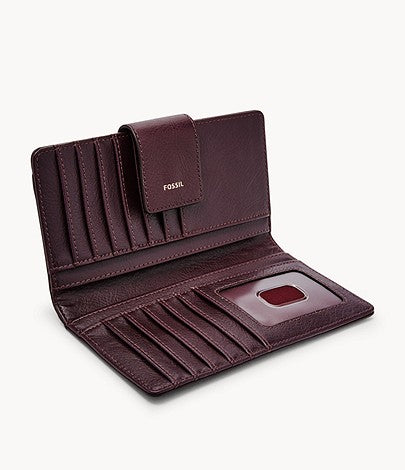 Fossil - Logan Tab Claret Red