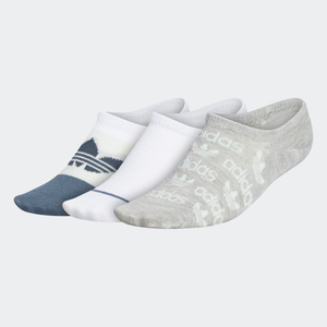 Adidas - Women's Graphic Super-No-Show Socks 3PK
