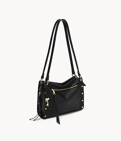 Fossil - Allie Satchel Black