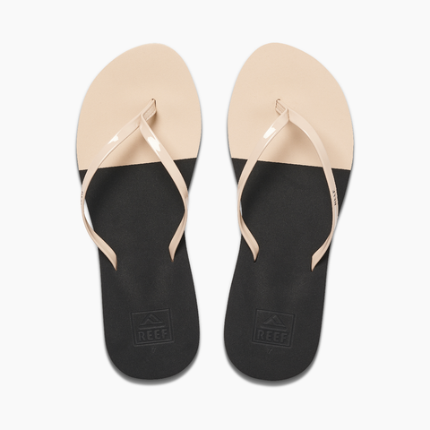 Reef - Bliss Toe Dip Black/Nude