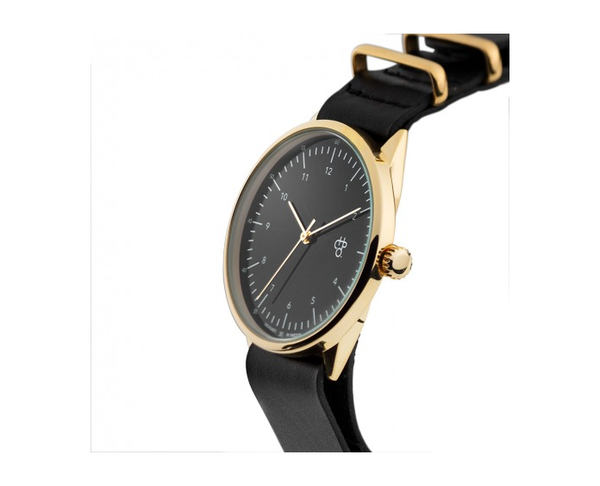 CHPO - Harold Gold / Black Dial Watch