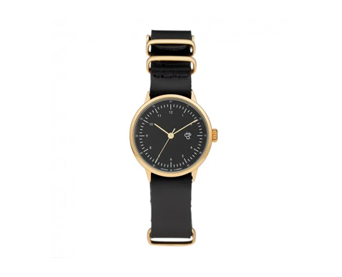 CHPO - Harold Gold Mini / Black Dial Watch