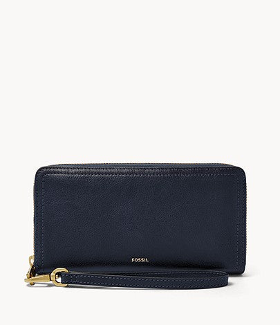 Fossil - Logan Zip Navy