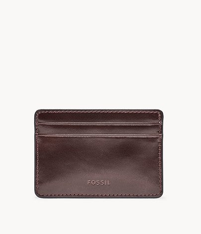 Fossil - Benedict Card Case Burgundy
