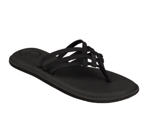 Sanuk - W Yoga Salty Black