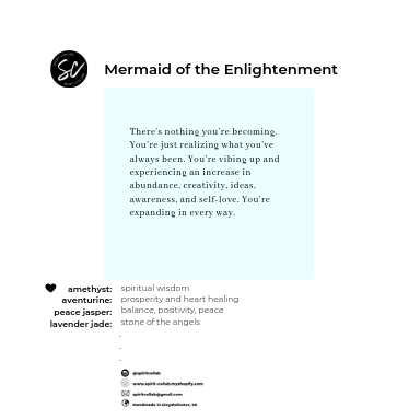 Spirit Collab - Mermaid of Enlightenment