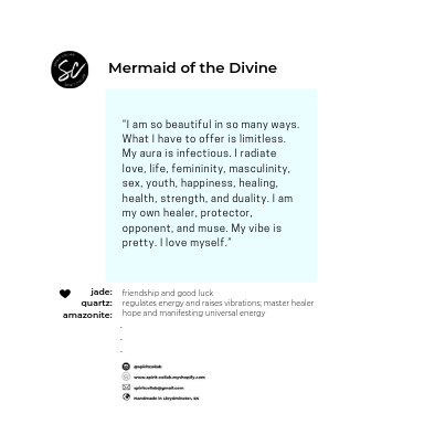 Spirit Collab - Mermaid of the Divine