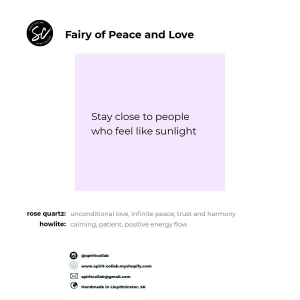 Spirit Collab - Fairy of Peace and Love