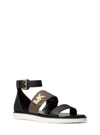 Michael Kors - Sidney Ankle Strap Brown/Black