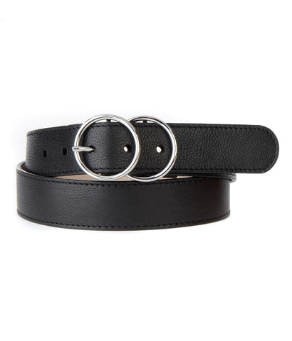 BRAVE - Yaholo Double Circle Belt Black