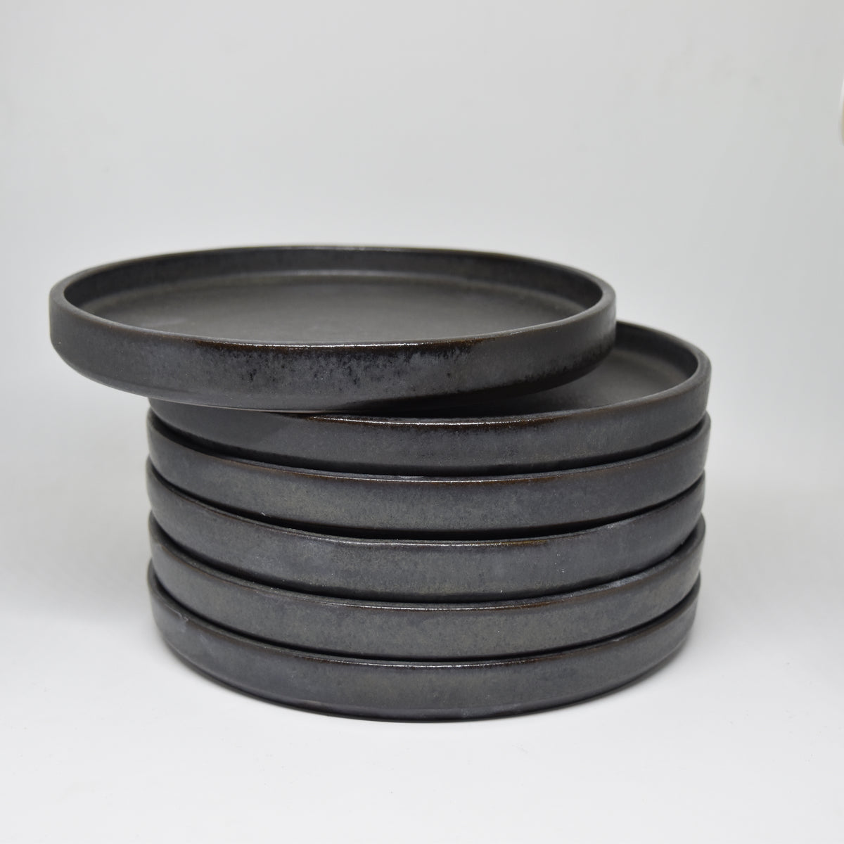 Charcoal Bread Plate
