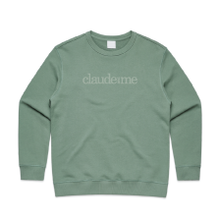 Load image into Gallery viewer, Claude and Me Premium - Womens Crew