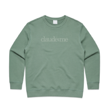 Claude and Me Premium - Womens Crew