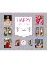 Load image into Gallery viewer, Ballerina Bunny Birthday Banners