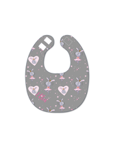 Load image into Gallery viewer, Ballerina Bunny Bibs