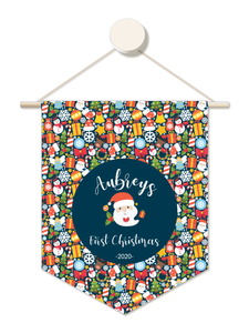 Classic Christmas Personalised 1st Christmas Hanger