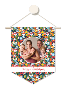 Classic Christmas Personalised Family Christmas Hanger