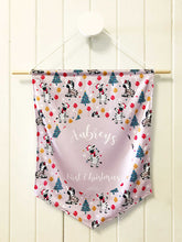 Load image into Gallery viewer, Party Zebra Personalised 1st Christmas Hanger