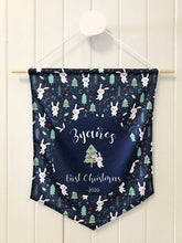 Load image into Gallery viewer, Hoppy Christmas Personalised 1st Christmas Hanger