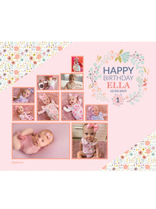 Floralette Birthday Banners