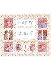 Load image into Gallery viewer, Floralette Birthday Banners