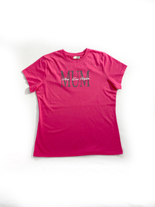 MUM Custom Name Ladies Tee