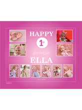 Load image into Gallery viewer, HOT PINK Birthday Banners