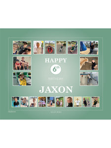TEAL Birthday Banners