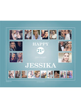 Load image into Gallery viewer, AQUA Birthday Banners