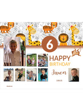 Load image into Gallery viewer, Lionheart Birthday Banners