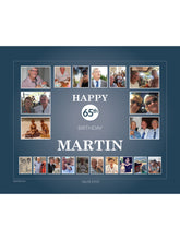 Load image into Gallery viewer, NAVY Birthday Banners