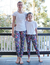Load image into Gallery viewer, Rosey Mummy and Me Leggings