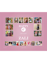 Load image into Gallery viewer, ROSE PINK Birthday Banners