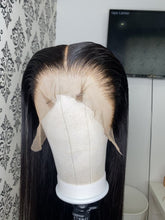Load and play video in Gallery viewer, Natural black straight wig