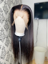 Load image into Gallery viewer, Natural black straight wig