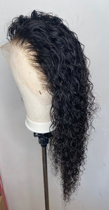 Curly HD lace wig