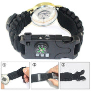 Survival Braided Paracord Watch