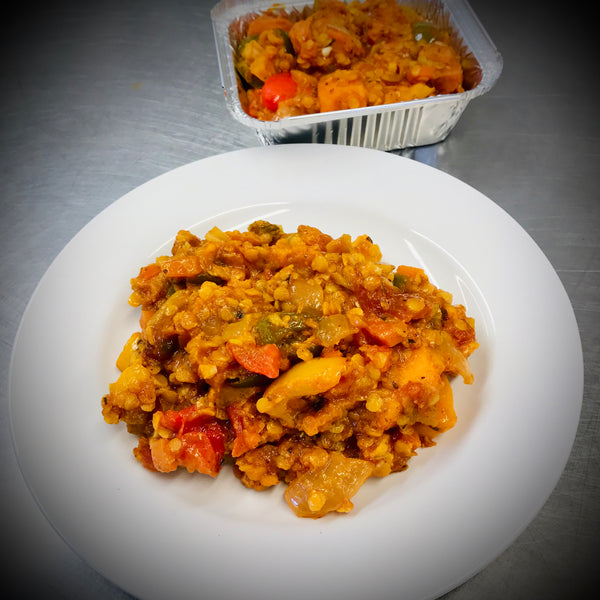 Sweet Potato, Pepper & Lentil Goulash 400g (Vegan, Dairy Free, Gluten Free)