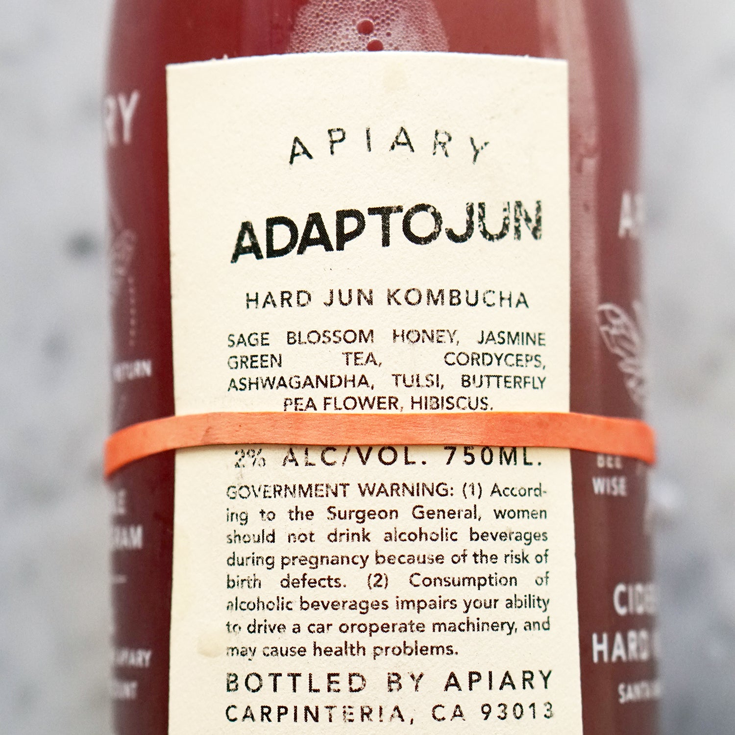 picture of adaptojun label