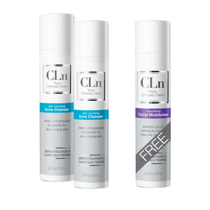 Acne Bundle CLn Skin Care
